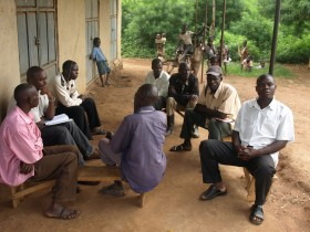 Disgruntled villagers share their complaints with Oil in Uganda writer