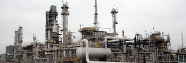 Ghana's Tema Oil Refinery: expensive and inefficient, critics say, but the Government of Ghana appears committed to keeping it going.