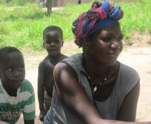 Florence Akumu used the money to feed her five children for about five months.