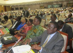 A section of delegates at the launch of Tanzania's fourth licensing round