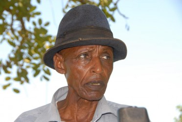 89-year old Ndereya Kasimagezi claims he bought 100 acres of land in Bugana village
