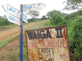 Waiga village is one of the areas that is being claimed by the pastoralists