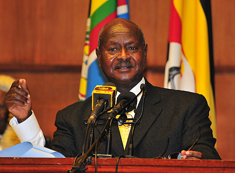 President Yoweri Museveni. Photo from Galaxy FM 100.2