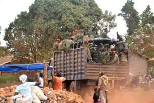 Artisan Miners evicted and displaced by Uganda Millitary.