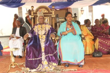 The Omukama of Bunyoro marked his 24th coronation anniversary on monday. Photo by Francis Mugerwa